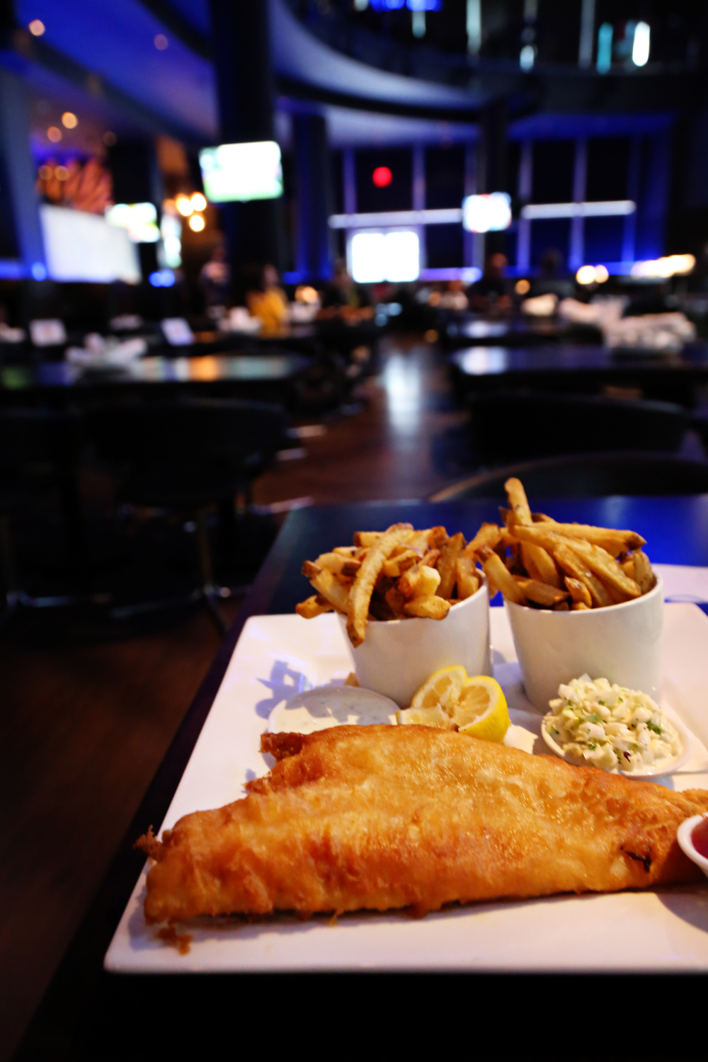 Classic Fish & Chips (Click to enlarge)