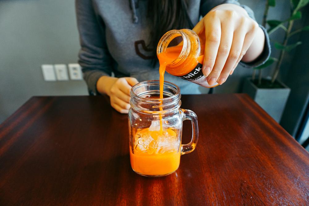 Seoul Cafe Series:A.blick (에이블릭),Seogyodong (서교동), Seoul, South Korea. They sells detox juice.