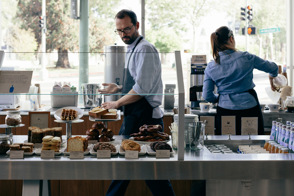 Greysuitcase Cafe Series: Blue Bottle Coffee, Oakland, California.
