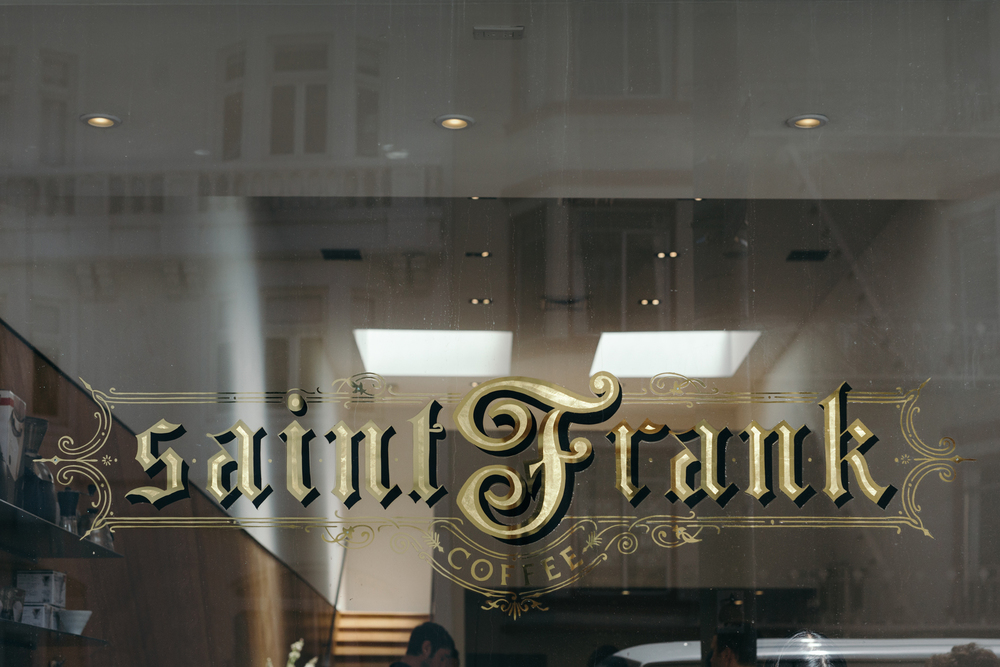 San Francisco Cafe series: Saint Frank Coffee, San Francisco, California.