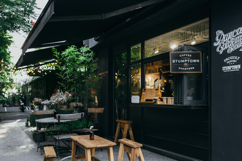 Stumptown Coffee Roasters Garosu Gil 스텀프타운 커피 로스터스 Greysuitcase