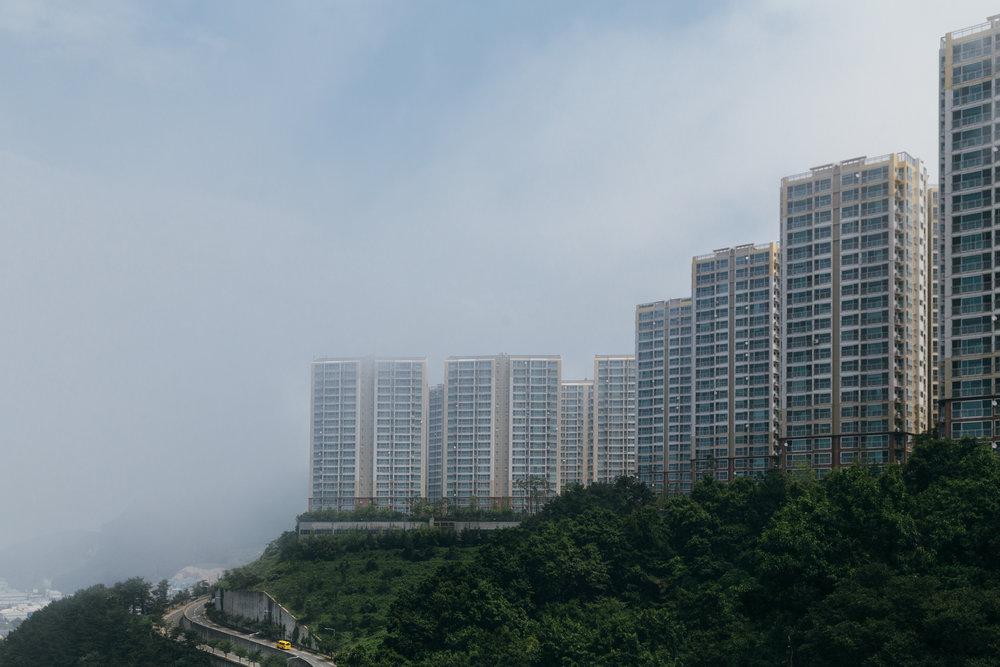 Greysuitcase Busan Series:Amisan Observatory (아미산 전망대),Busan (부산), South Korea.