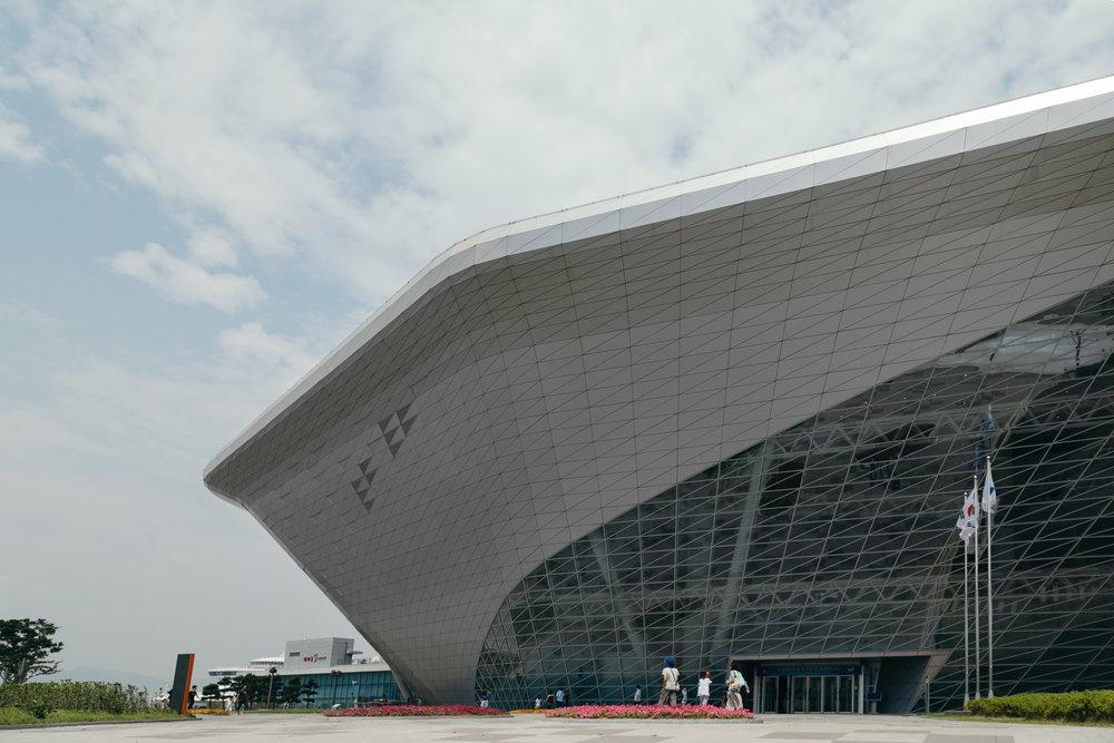 Greysuitcase Busan Series:National Maritime Museum (국립해양박물관),Busan (부산), South Korea.