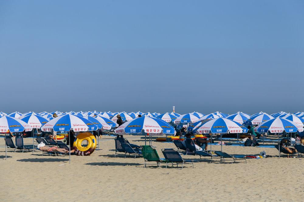 Greysuitcase Busan Series: Haeundae Beach (해운대해수욕장),Busan (부산), South Korea.
