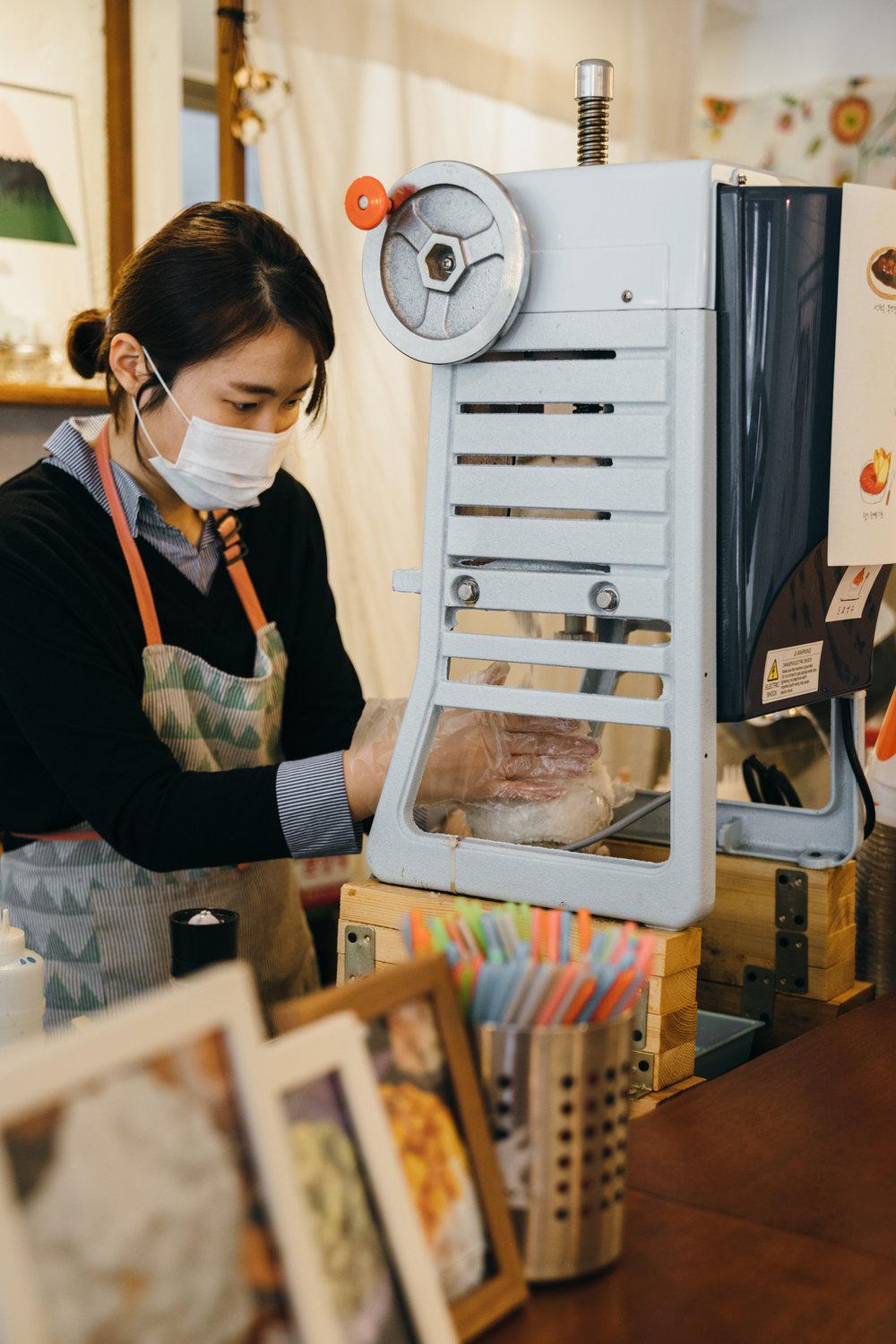 Greysuitcase Seoul Cafe Series: Tokyo Bingsu (도쿄빙수) , Mangwon-dong (망원동), Seoul, South Korea.