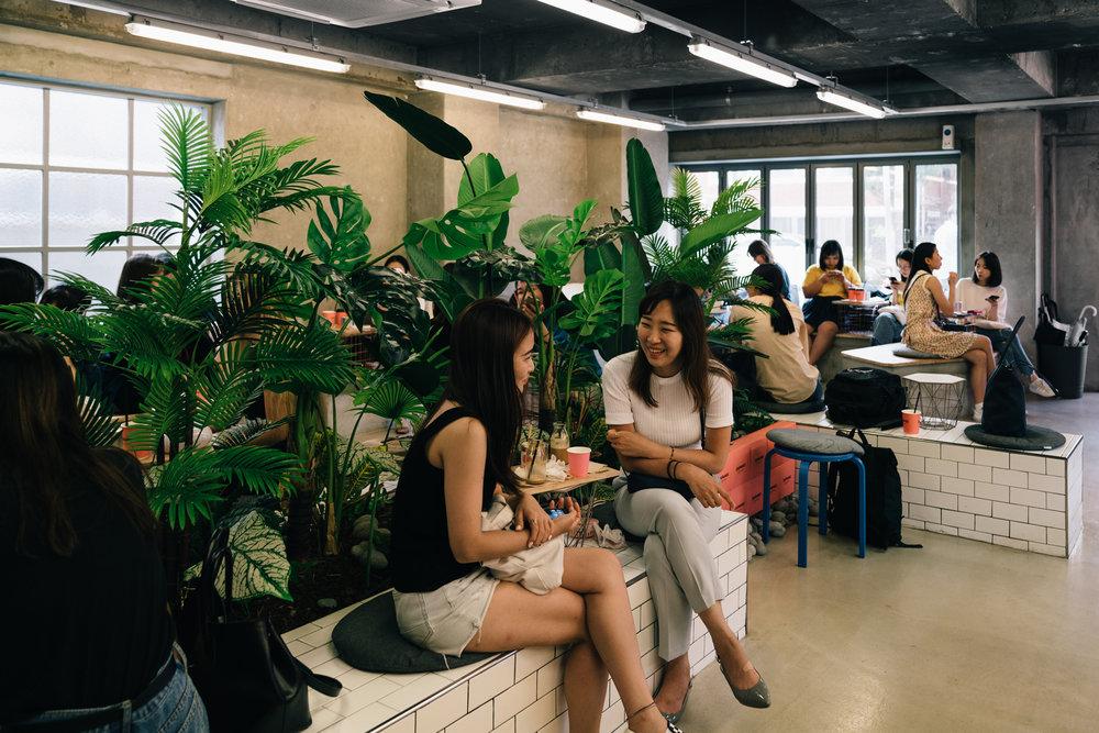 Greysuitcase Seoul Cafe Series: Zapangi (자판기), Mangwon-dong (망원동), Seoul, South Korea.