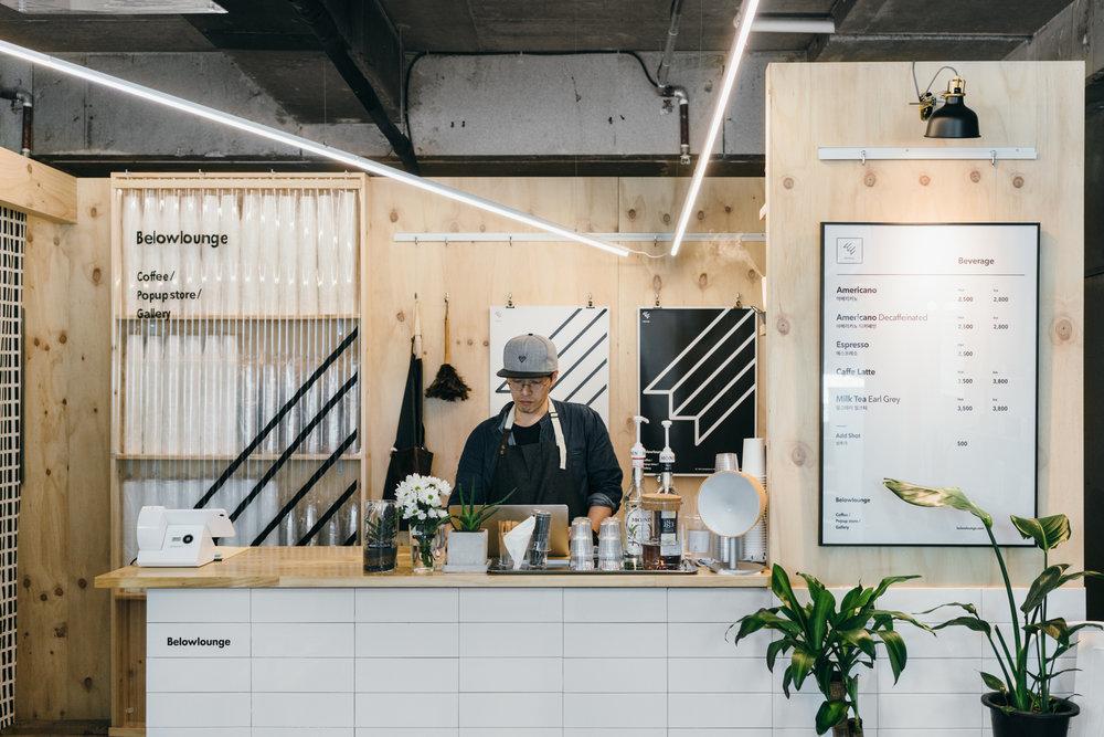 Greysuitcase Seoul Cafe Series: Belowlounge (빌로우라운지), Yeonnam-dong (연남동), Seoul, South Korea.