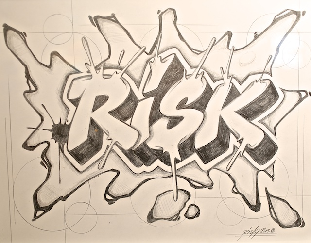 mike azria-risk rock-art show-graffiti sketch.jpg