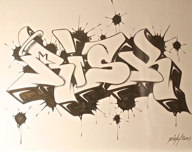 mike azria-riskrock-art show-street art-sketch.jpg
