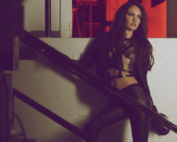 Mike Azria Photography Image Maggie Mizner Industrial Fashion Story
