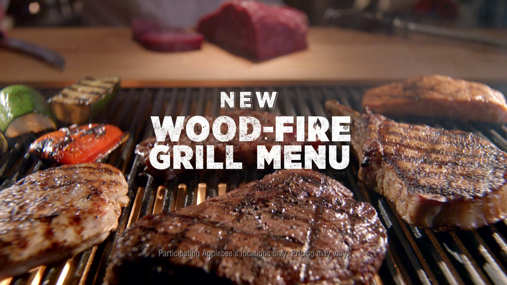 "APPLEBEE'S — ""WOOD-FIRE GRILL"""