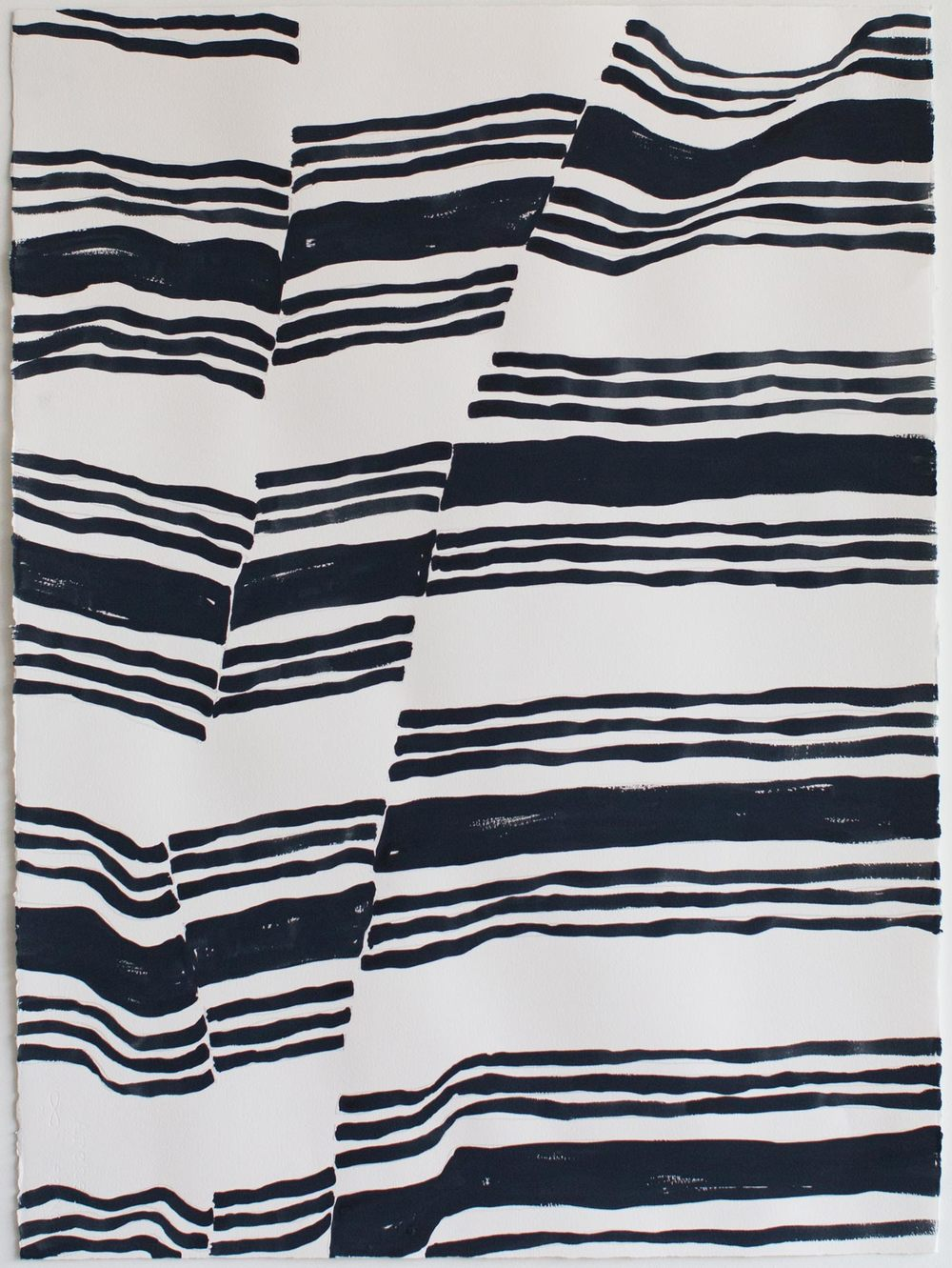 "Fabric Study 3_26""x34"""