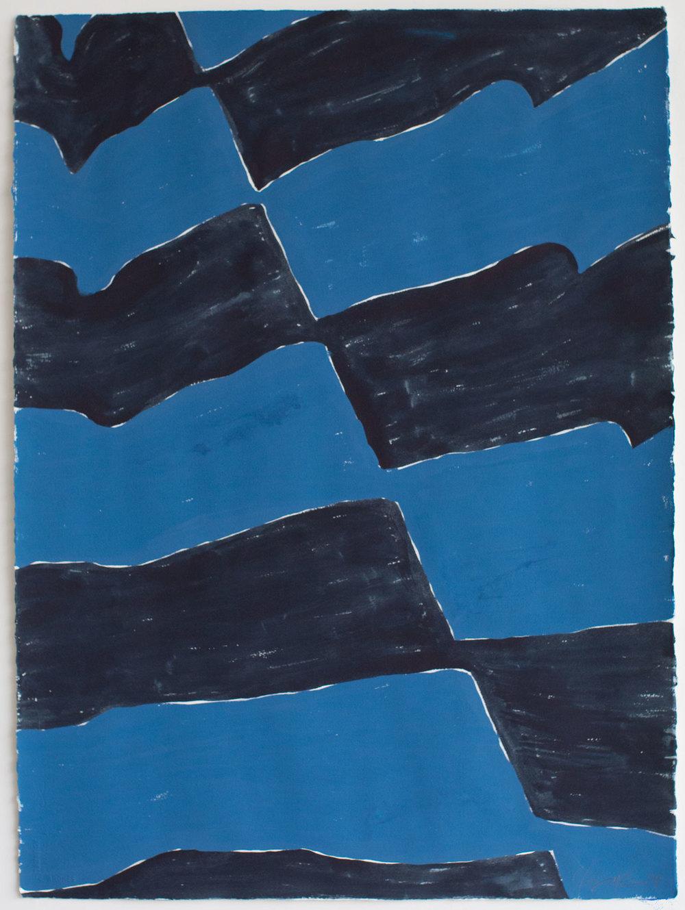 "Fabric Study 1_26""x34"""