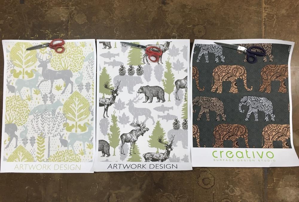 brentwood textiles artwork