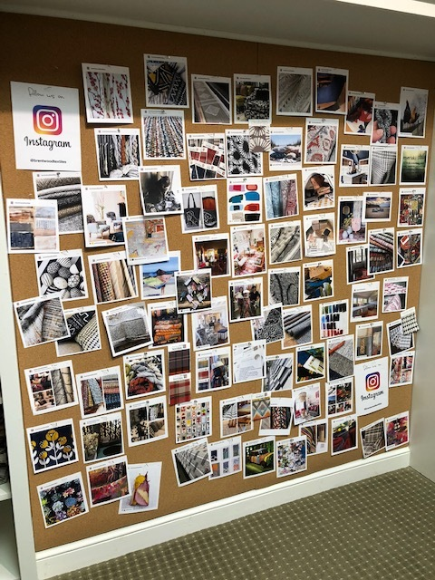 Instagram wall!