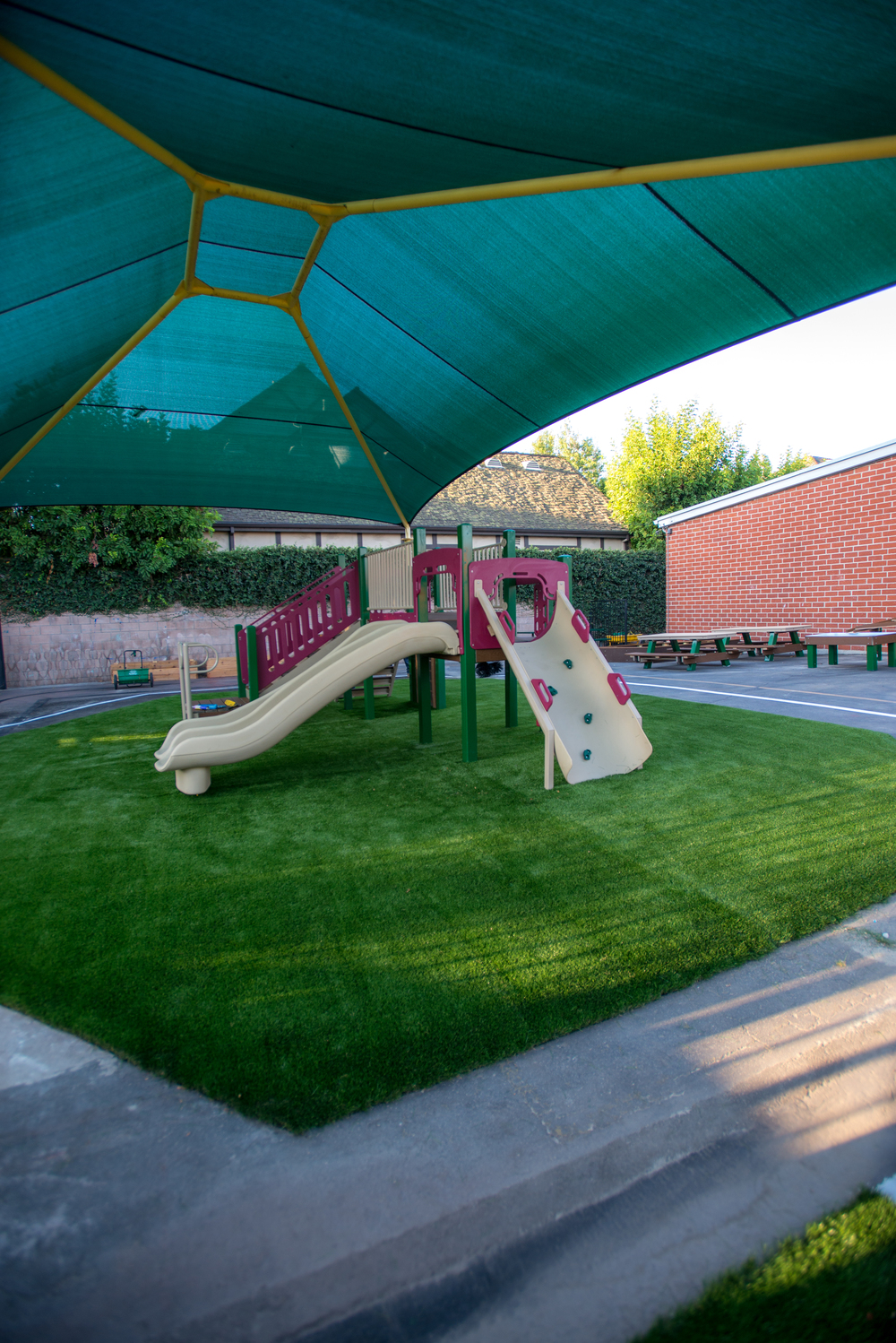 Our Brand New Pre-K Yard