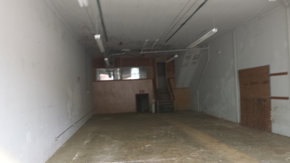 Rocket Queen Imaging's new studio space, with demolition almost complete.