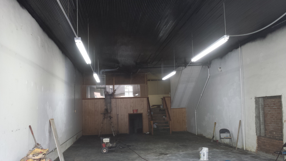 Rocket Queen Imaging's studio construction continues!