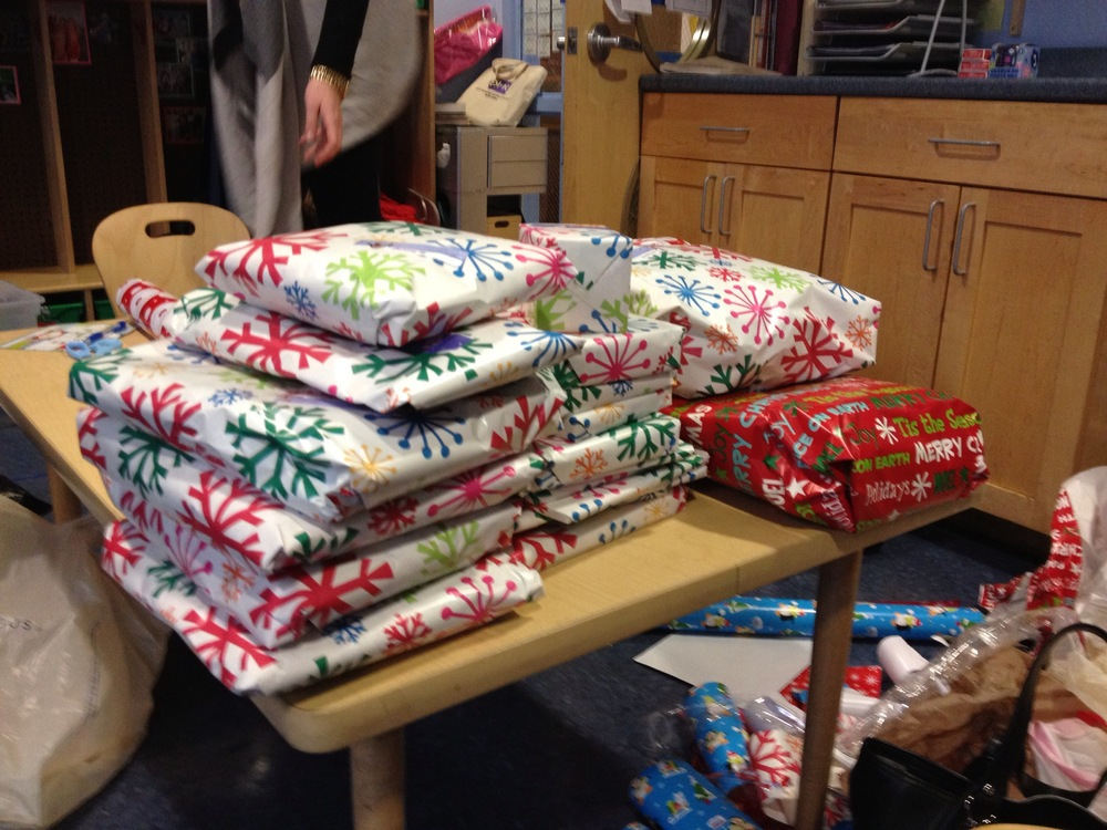Gift Wrap Overload!