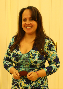Santia pelliccia, 2013/14 Volunteer of the year