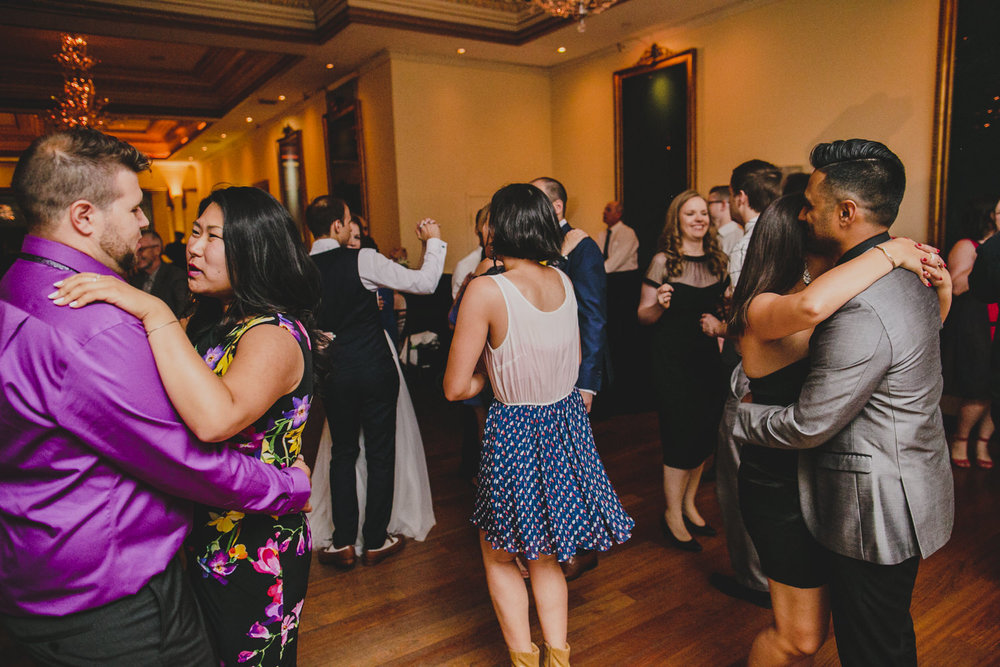solo slowdancer at rosewater toronto wedding