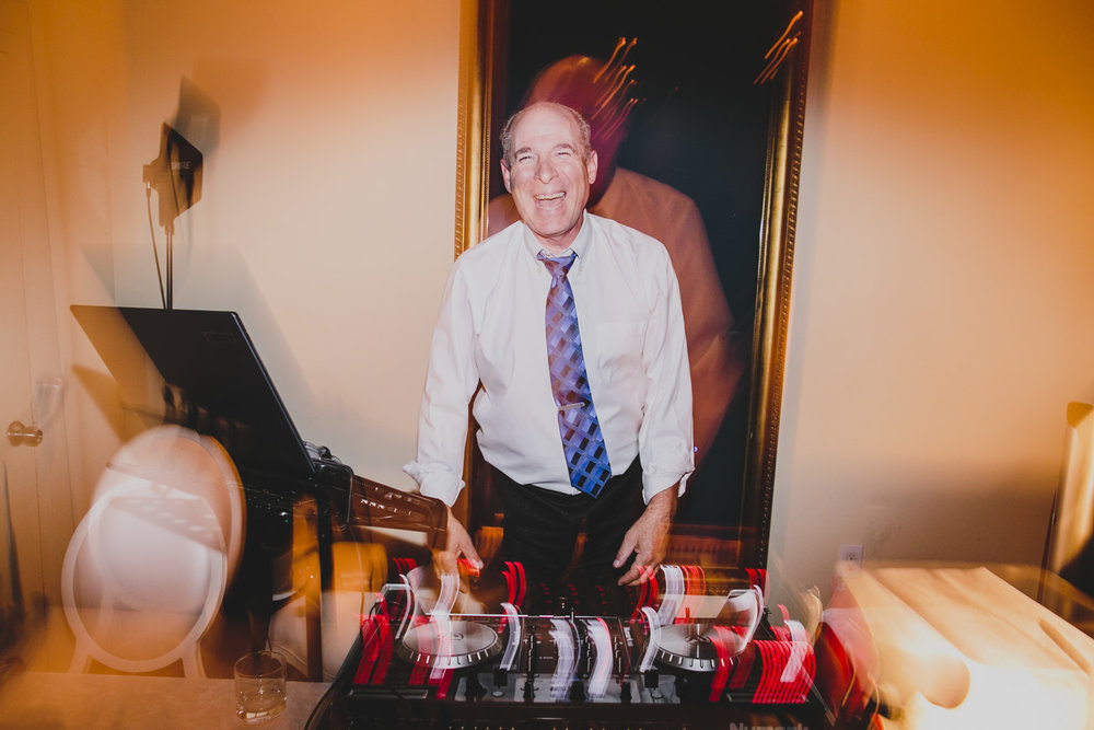 DJ at rosewater toronto wedding