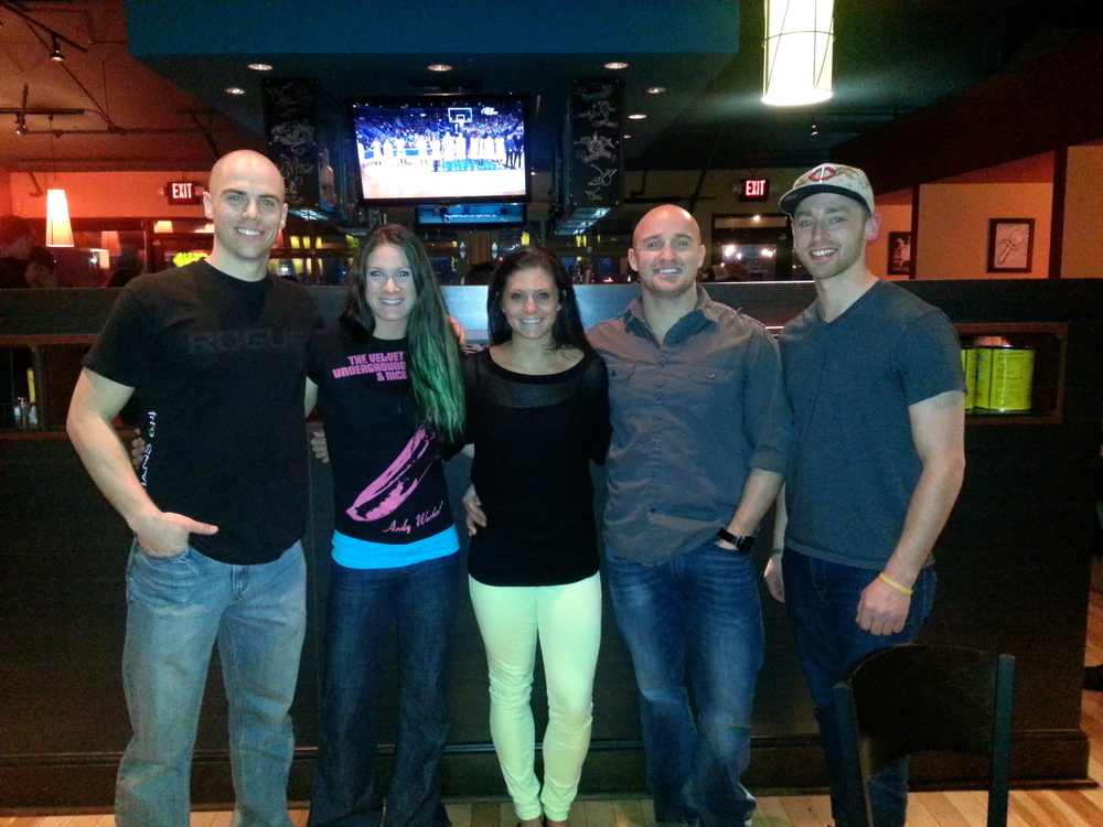 CrossFit Eden Prairie coaches are toasting to a successful 6 months since we opened our doors last September!