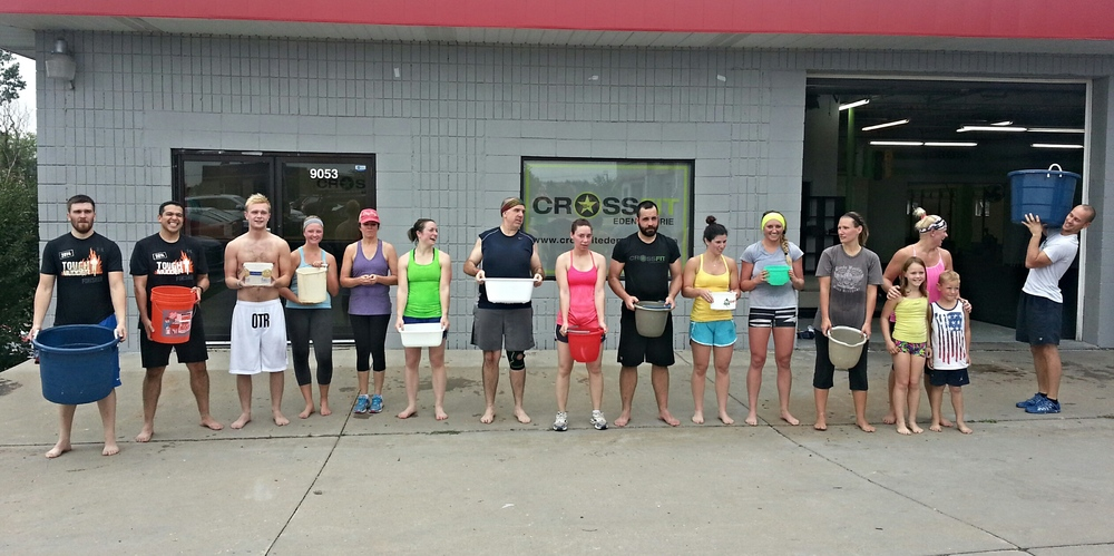 Saturday class accepted the ALS Ice Bucket Challenge
