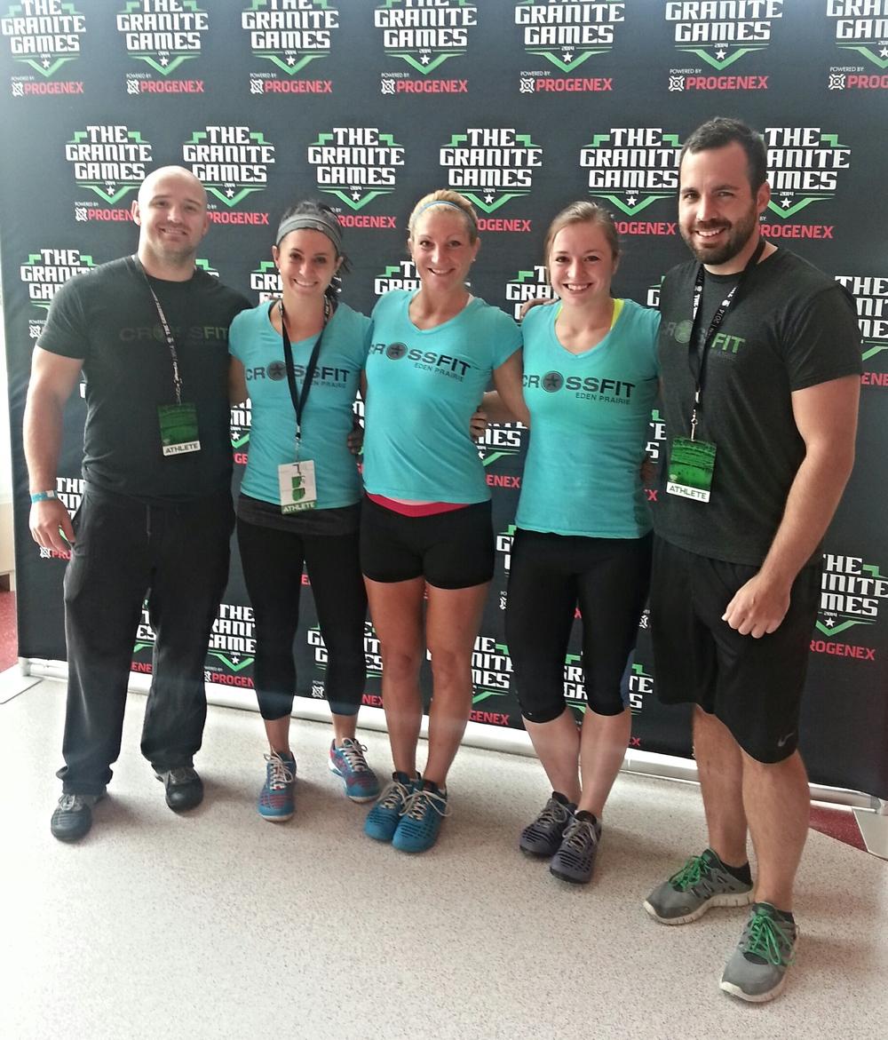 Team CrossFit Eden Prairie representing at Granite Games in St. Cloud, MN.