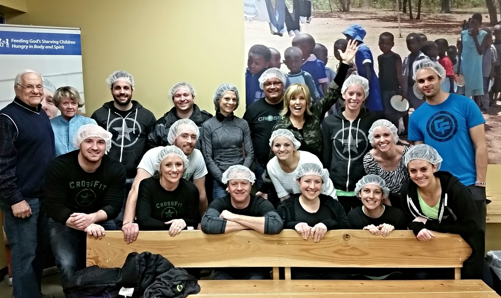 Some of the amazing CFEP community giving back at Feed My Starving Children!