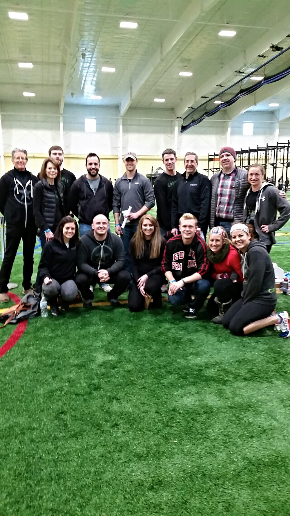 Some of the CFEP crew representing at the Freeze Fest CrossFit competition last Saturday