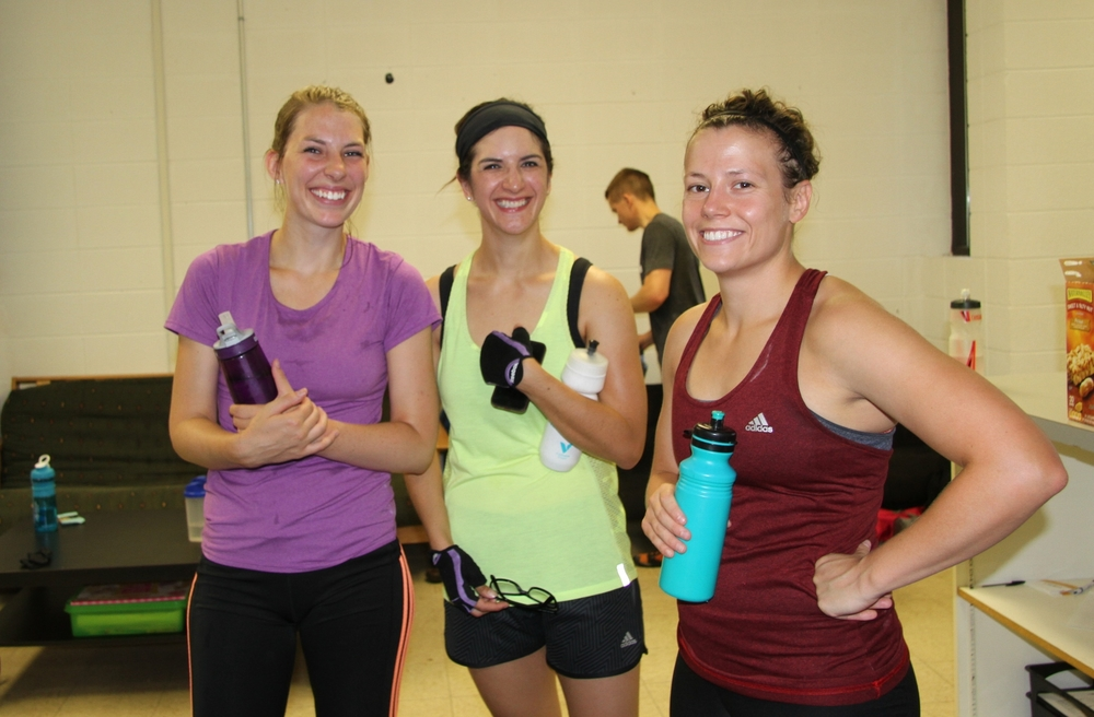 Jen, Anika, & Holly sharing some laughs!