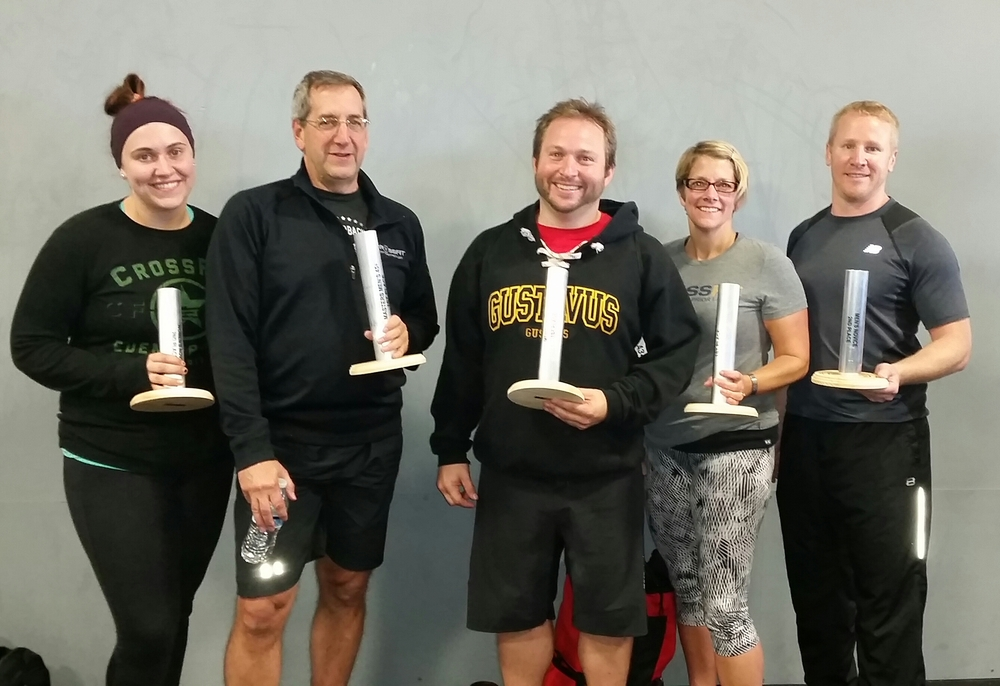 Emily, Mark, Patrick, Dawn and Lincoln took home top 3 finisher medals in their respective divisions at the Festivus Games. Way to represent CFEP & CFPL!