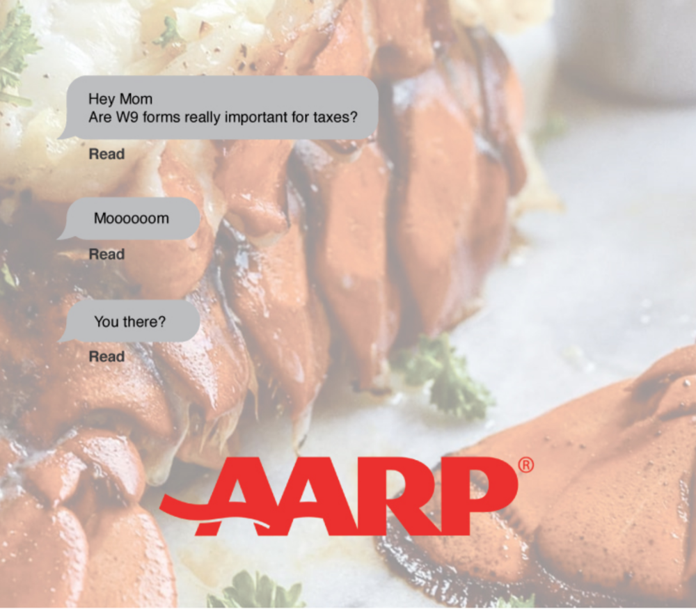 - Connecting People to _______CHALLENGE How can we create awareness in AARP's services and increase memberships?INSIGHT We see that during the ages of 45-65 is the stage of YOU. At this point you have more control over your time, more money to spend and more wisdom to know what you want.SOLUTION We want to promote AARP as a community that is all about serving you, it is there to support and enhance this new part of your life.                         The