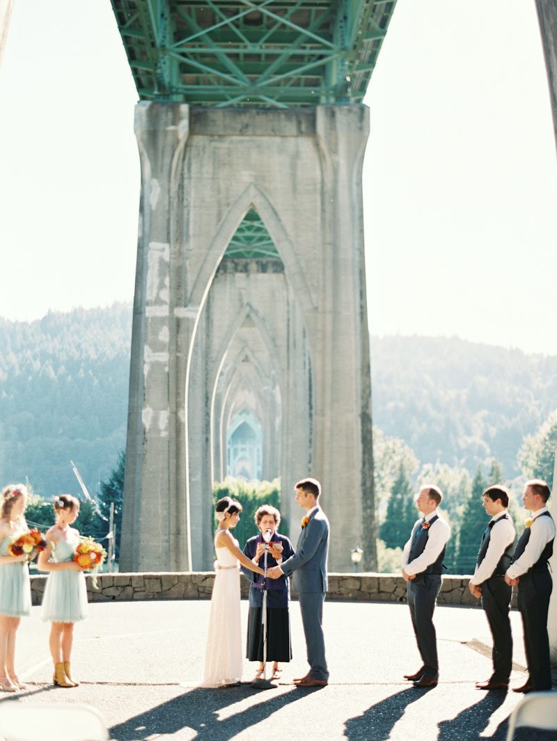 Olivia Amp Kevins Cathedral Park Wedding Linnea Paulina Photography