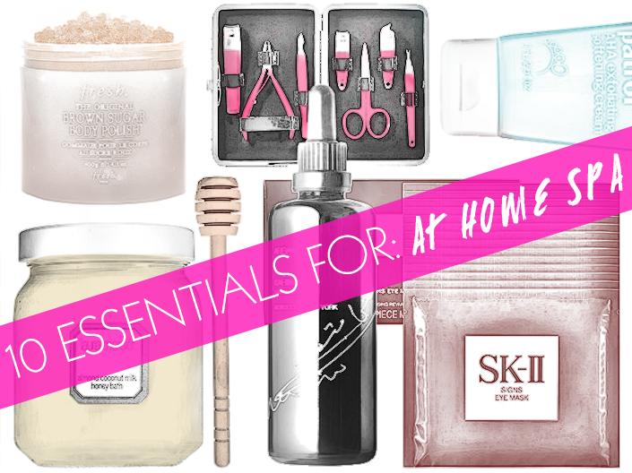 10 Essentials for An At-Home Spa Day | BeautyHigh.com