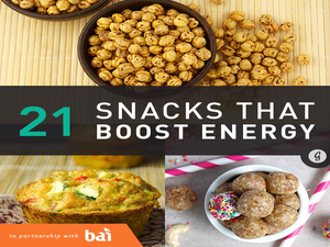 21 Healthy and Portable Energy-Boosting Snacks | Greatist.com