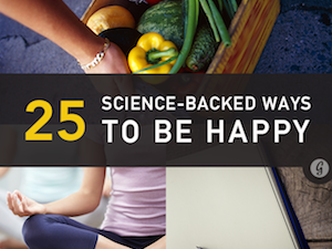 25 Science-Backed Ways to Feel Happier | Greatist.com