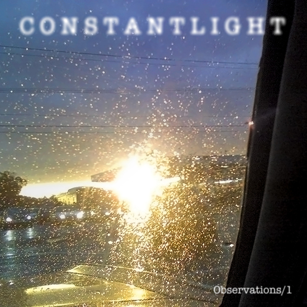 "Observations/1  (Constant Light compilation)   CYCLIC DEFROST  Constant Light are a really unique Melbourne duo creating experimental minimal music with lots of space. Their music is dreamy, krautrock influenced, quite repetitive and mostly instrumental, with drum machines and droning synths, bubbling atmospheres and elongated loops. Many of us first heard them via the excellent Iceage label compilation of last year Shape of Sound Vol.1, but this collection really expands upon their palette, offering up a band who have a unique ability to create really beautiful lush and hypnotic music, yet also retain an experimental edge, either via structure or a few difficult sounds thrown into the mix. You can hear elements of everyone from Budd and Eno to Vangelis in these sounds if you wish to. It's the work of Sasha Margolis who was previously part of experimental noise band Y35.5 and also Automating, as well as James Dean who helms Electric Sound Studios. This isn't an album per se, rather it's a collection of newly remixed material they produced and released in 2010 on miniature cds as well as the aforementioned piece from The Shape of Sound as well as three previously unreleased works, including a Suicide cover, the only track featuring vocals, and probably the weakest track here, shattering the mood they had so effortlessly created. So even though it's not an album, it fits together beautifully (aside from the Suicide track), and it's the kind of music that just washes over you, these beautiful ambient drifts, experiential music where your consciousness is affected but you barely remember you're even listening to music. Beautiful.  - Bob Baker Fish   DREAMLAND RECORDINGS  Constant Light are a duo comprising James Dean (no it is not a coincidence) and Sasha Margolis; operator of Second Language Records and one of the hardest working musical pariahs in Melbourne. Having been active for a number of years in a number of guises (Automating, Spitfire Parade, Salivation Army, and Y35.3 to name a few) each one of these projects produced quality sound works, that for the most part remain/ed under the radar.  In Constant Light, the two have found a common interest in drones, krautrock, synthesizers and organs, teaming up to create pulsing rhythmic sound scapes comprised mainly of layered Acetone, Farfisa and guitar. The appeal lays in their clever ability to treat their source components to such a degree as to render the original instrumentation almost non existent. Dean's mastering and production experience ensures they hit the senses with full sonic impact, walking the tightrope between lush and abrasive but never uncomfortable. Having listened to the album several times seated and motionless, it was not until hearing it on a long car journey that it really took off, with the stabbing repetitive organ lines and pulses greatly enhancing the linear nature of driving.  A special mention must go to the finale, a very Australian cover of Suicide's ""Dream Baby Dream"" displaying a cheeky irreverence to which I believe Alan Vega would give the thumbs up. Although only active since the beginning of 2010, they have amassed a sizeable recorded output of mainly limited editions, downloads and compilation tracks (the majority of which comprises this album), and besides their recordings, the duo are a formidable live entity, often performing in line-ups of varying numbers of two to five members and audiovisual projections. Krautrock no loner reigns supreme on the road, Constant Light are the new soundtrack for cars.  - Zac Keiller.  CHROMATIC FIELDS There are a lot of artists these days riding the minimalist/experimental wave, as if through lack of musical aptitude they have clamoured onto a genre that is loose in definition but often fall short of true artistic ability. Then there is Constant Light, an act from Melbourne Australia that have a veracious appetite for well crafted [for the most part] instrumentals often lacking in today's underground music scene. Observations/1 is a compilation album of tracks from several short run E.P.s released by Second Language Records. The album is driven by its repetitive melodic hooks that are infused through each track. With such a dazzling display of musicianship and songwriting dexterity this album is by far one of the best releases to come out of Australia for quite some time."