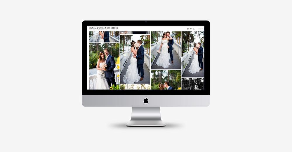 Orlando wedding photographer delivers digital images