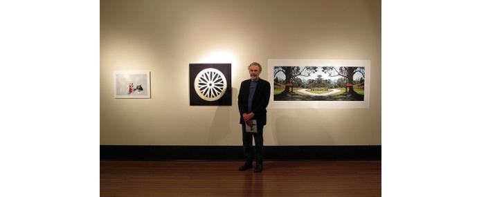 DW @ WRVAP's  Riparian Rites exhibition   Maitland Regional Art Gallery, 2011