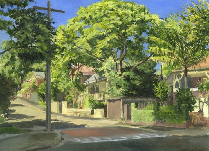 Michael Cowdroy - Rozelle Winter Light.jpg