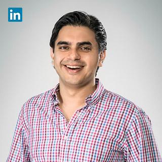 Vikram Rupani,  Co-Founder & President