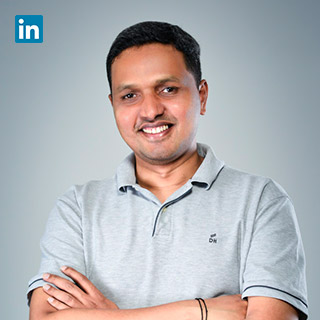 Rajesh Lingappa,   Co-Founder & CTO