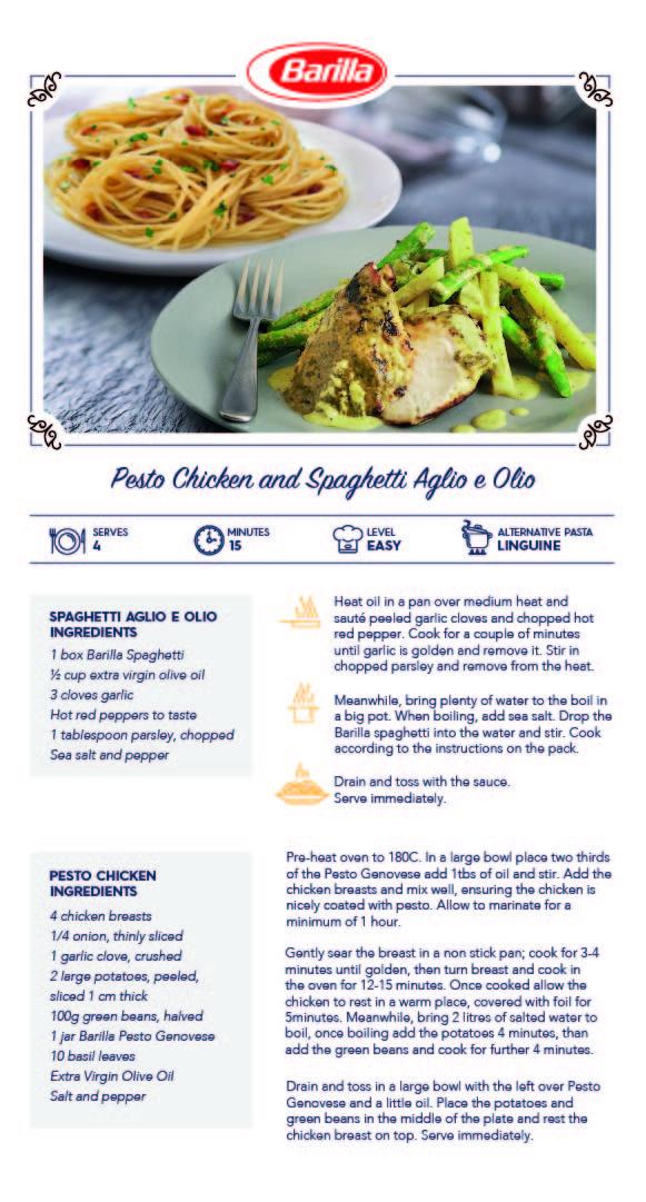 Barilla Aglio Olio with Pesto Chicken.jpg