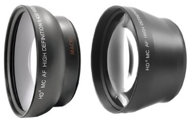 0.43x and 2.2x adapters for Sony 18-200mm