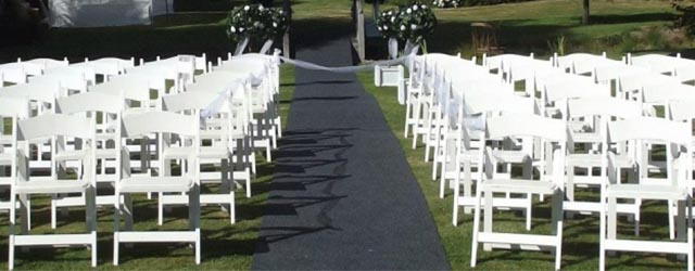 Wedding Hire Seats