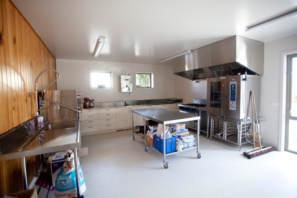 Tekapo Events Centre - commercial kitchen