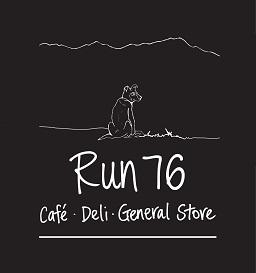 Run 76 logo