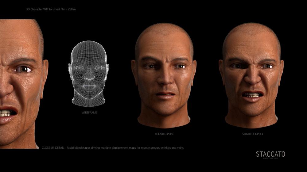Zellan 3D Character Development
